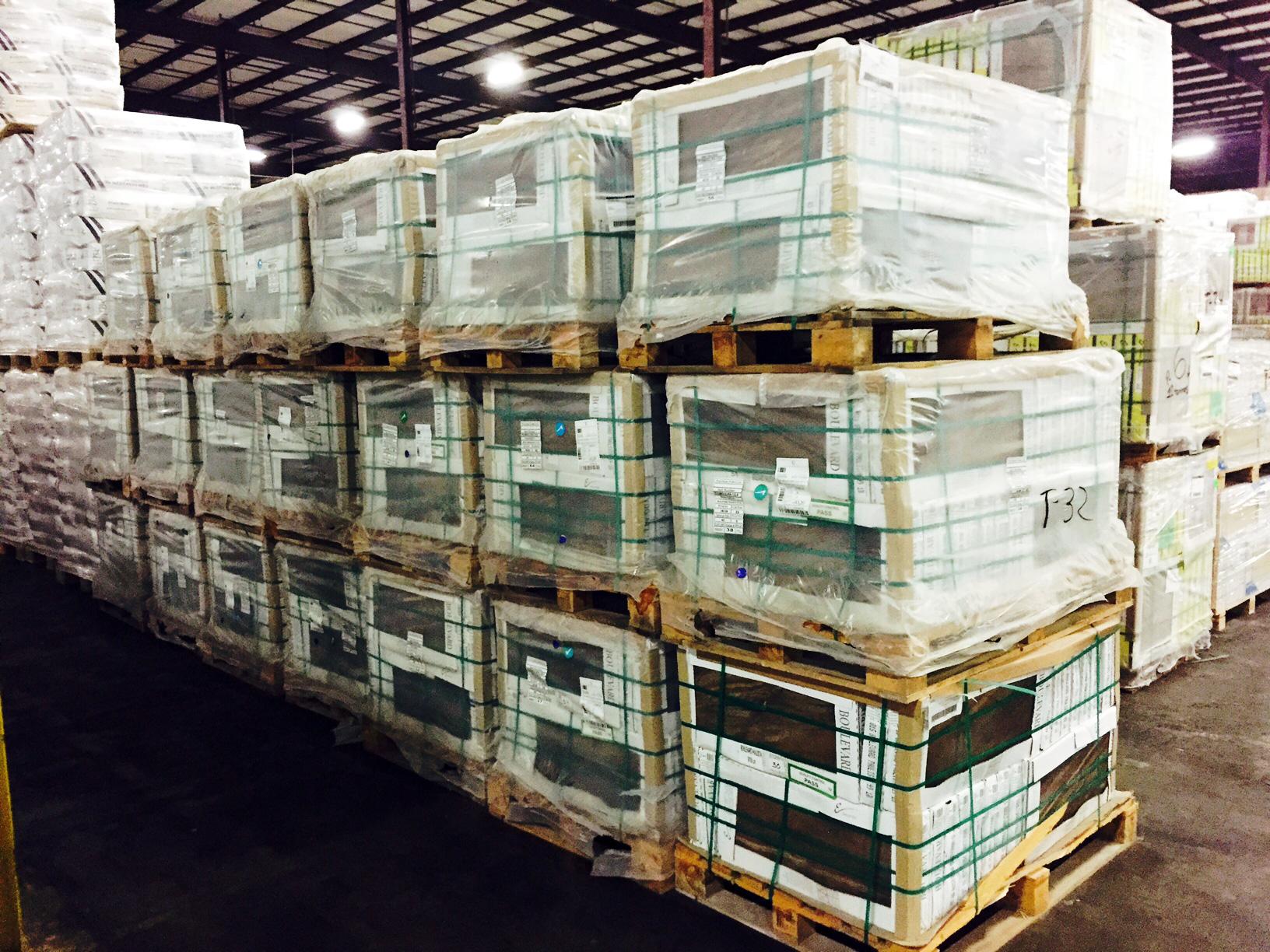 Tile & Stone Transloading, Drayage and Warehousing | Gulf Winds