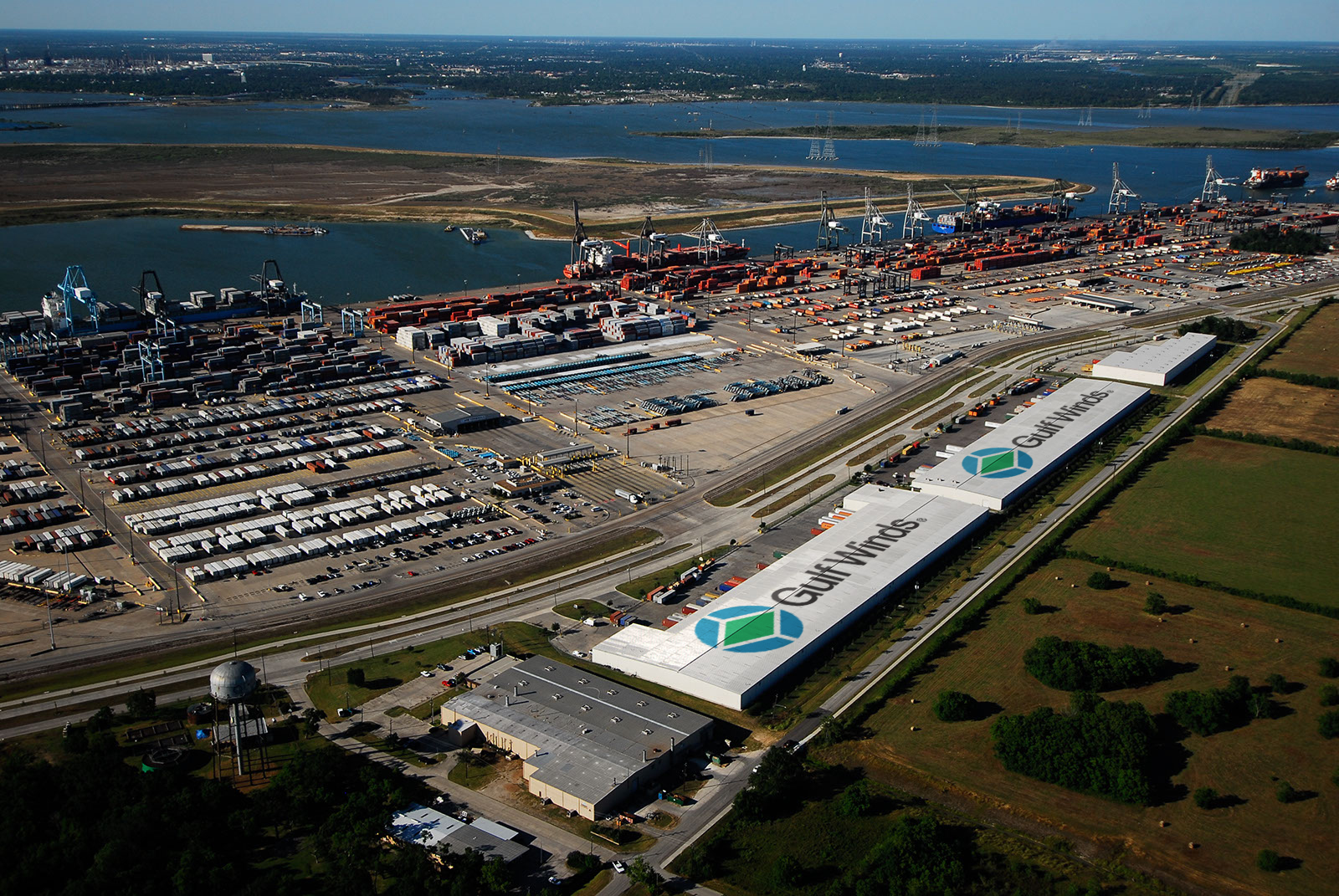 Gulf Wind's Barbour's Cut Warehouse is Adjacent to Port Houston's Barbour's Cut Terminal