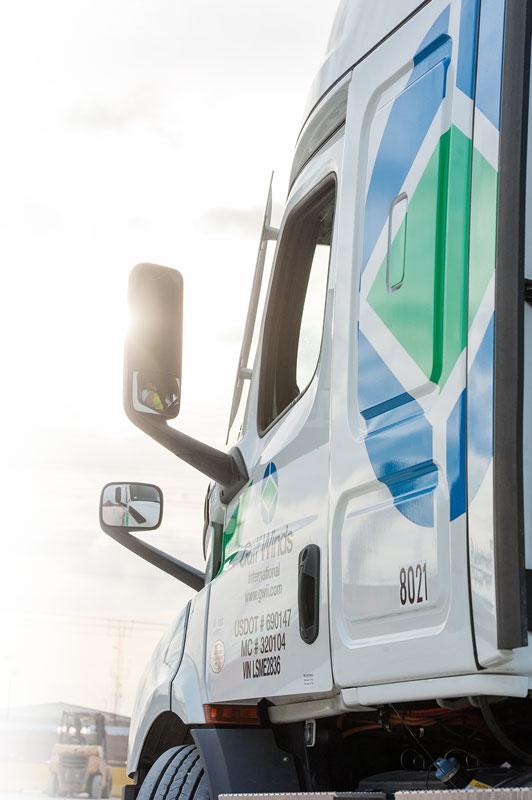Memphis Drayage Trucking - Gulf Winds